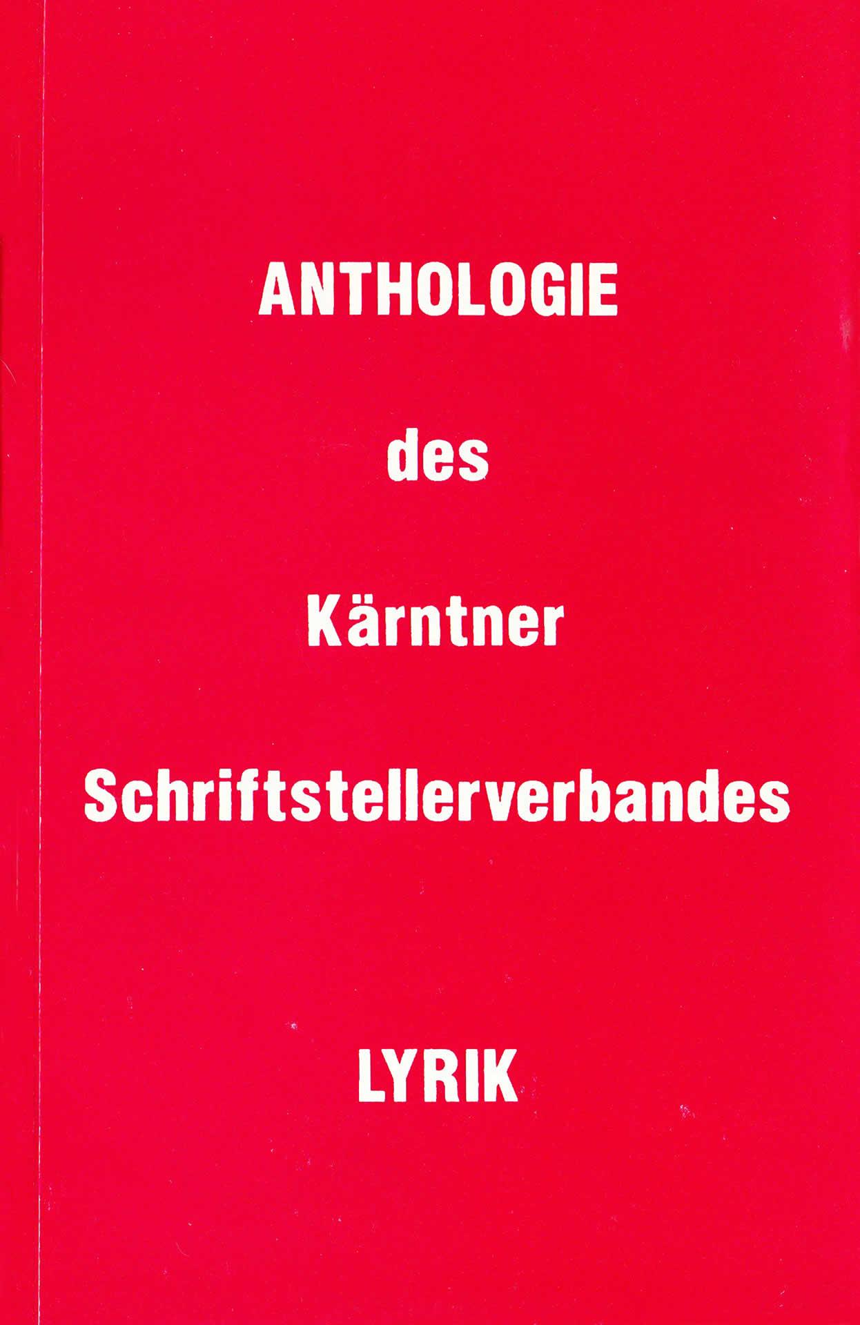 Antologie des Kärntner Schriftstellerverbandes | LYRIK | 1991