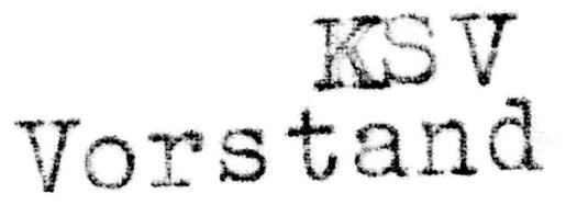 KSV Vorstand